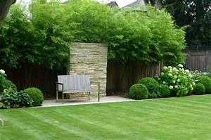 Bambou Brise Vue : deco bambou jardin jardin japonais avec dco en bois et ~ Premium-room.com Idées de Décoration