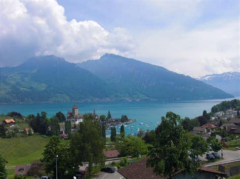 Top World Travel Destinations Spiez Switzerland