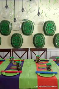 teenage mutant ninja turtles party ideas ninja turtle