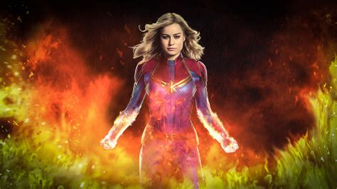 Captain Marvel 2019 Movie Wallpapers - Wallpaper Cave
