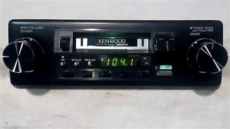 Cassette Car Stereo by Vintage Kenwood Krc 3100 Am Fm Cassette Car Stereo