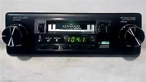 Vintage Kenwood Krc-3100 Am  Fm Cassette Car Stereo