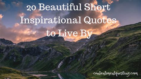 Inspirational Quote Picture by 20 Beautiful Inspirational Quotes To Live By