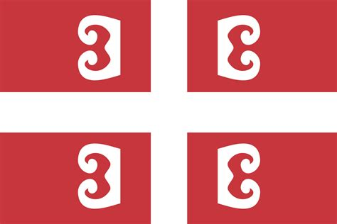 Simplified Flag Of Serbia
