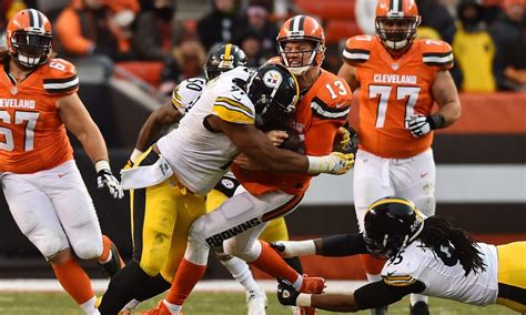 steelers  browns game information time tv schedule
