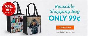 Only Shopping Bag : custom reusable shopping bag only 1 become a coupon queen ~ Watch28wear.com Haus und Dekorationen