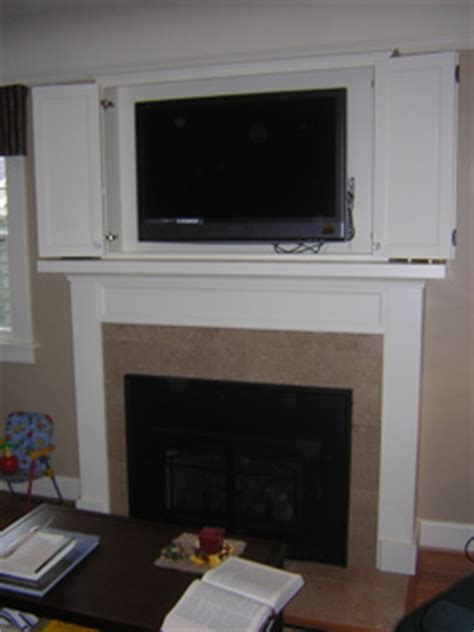 Mirror Sideboard by Custom Dining Room Sideboard Tv Cabinet Above Fireplace Mantel