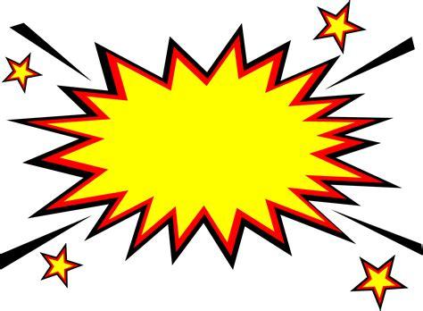 Comic Boom Explosion Vector Transparent Svg Vol