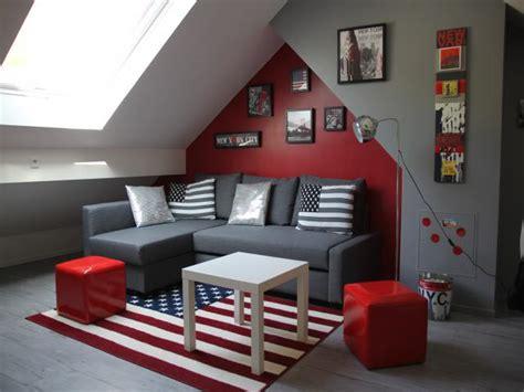 but fr chambre aménagement chambre ado gris