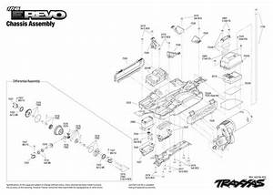 Traxxas E Revo Parts Diagram
