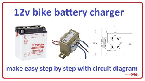 How Make Bike Battery Charger Easy Step
