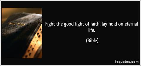 fight  good fight  faith verse