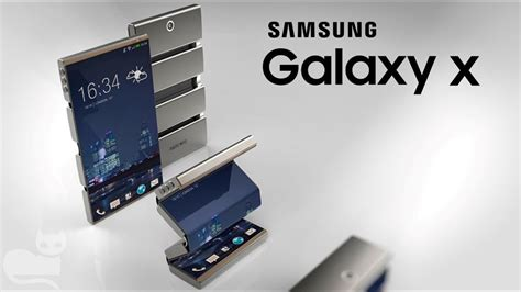 samsung galaxy x folding phone leaks we may see it at ces 2018 gsmdome