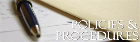 Writing Policy And Procedure Manual  The Woodlands