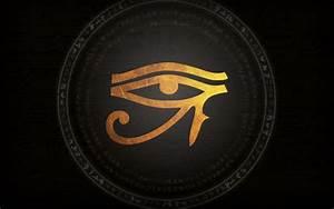 Wallpaper Eye of the Horus by LadyAdaia on DeviantArt