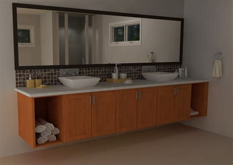 ikea vanities transitional  modern