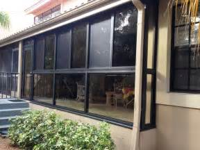 Glass Enclosed Deck by A Glass Enclosed Lanai With Impact Windows Adds Value To