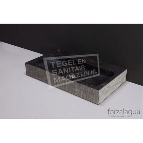 wasbak 50 x 50 forzalaqua taranto wastafel 50 cm hardsteen gefrijnd