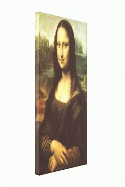 Lisa Vinci Leonardo Mona Renaissance Canvas Kaynağı