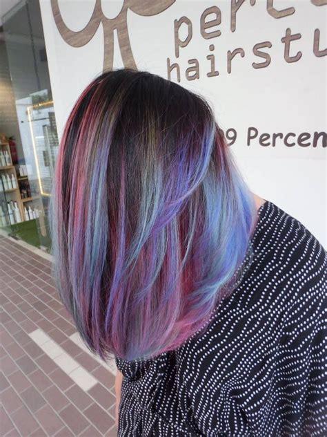 Opal Galaxy Hair Colour Katong Hair Maybes In 2019