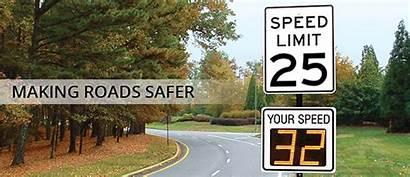 Radar Speed Signs Sign Road Feedback Traffic