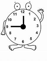 Clock Coloring Pages Daylight Savings Printable Craft Sheets Cuckoo Children Jesus Sunday Church Save Words Saving Sheet Clipart Crafts Worksheets sketch template