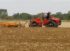 Farm Tractors Working