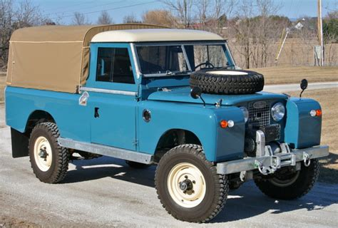 restored  land rover series   pick   sale