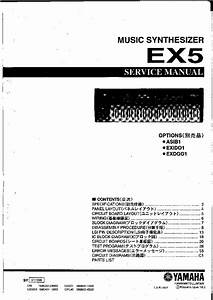 Yamaha Ex5 Synthesizer Sm Service Manual Download  Schematics  Eeprom  Repair Info For