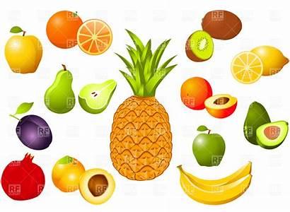 Fruit Fruits Clipart Vegetables Kahoot Cliparts Illustrations