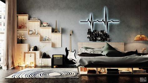 chambre a la mode décoration chambre ado industrielle à la mode