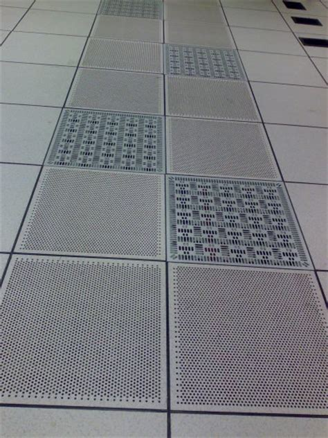 perforated tiles can be your friend even in the