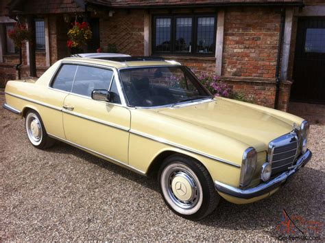 mercedes w114 coupe mercedes w114 coupe 280ce 280se convertible pillarless