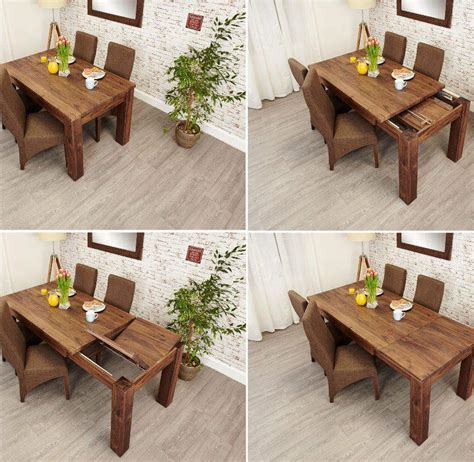 mayan walnut extending dining table akd furniture