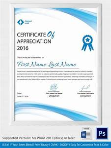 Certificate Of Recognition Examples Word Certificate Template 31 Free Download Samples