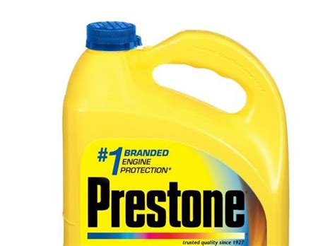 Prestone Antifreeze Is 5x More Effective At Corrosion