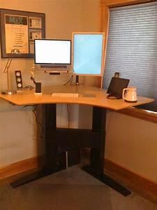 Build, Standing, Desk, U2013, Homesfeed
