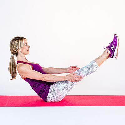 Boat Pose Core Exercise by Boat Pose 24 Fat Burning Ab Exercises No Crunches