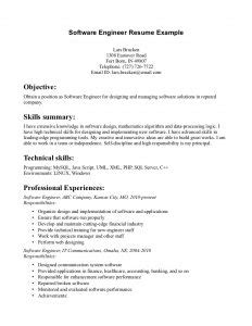 Resume Writer Software by Entry Level Software Engineer Resume Template Business