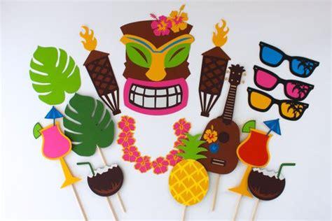 ideas  una fiesta hawaiana  decoracion de