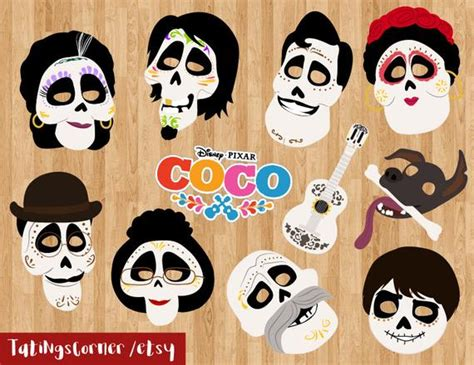 coco photo booth disney coco coco birthday coco photo etsy