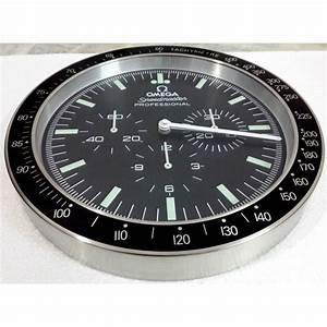 Omega speedmaster professional wall clock for Omega speedmaster wall clock