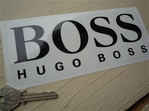 """Hugo Boss Black & Clear Sticker 7"""". Athena Lettering. Eagle Logo. Leaf Wall Stickers. Gift Wrapping Stickers. Leo Tumblr Signs Of Stroke. Brown Stickers. Work Safety Signs. Knight Logo"""