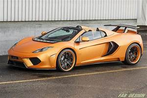 McLaren MP4-12C Spider Terso by FAB Design - eXtravaganzi