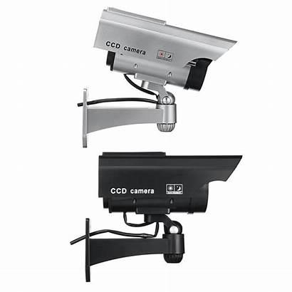 Camera Power Fake Security Dummy Solar Flashing