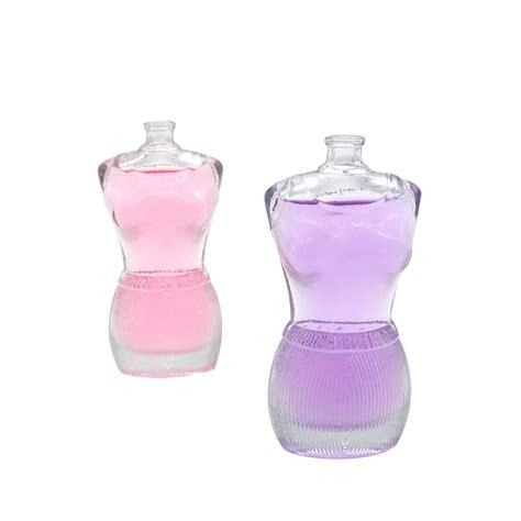 woman body shape perfume bottle ml custom glass perfume bottle high quality body shape