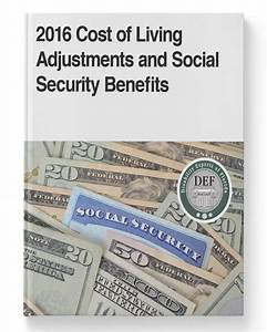 2016 Cost Of Living Adjustments And Social Security