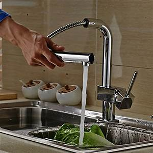 Robinet Cuisine Professionnel : auralum mitigeur chrom evier eurostyle squared robinet ~ Edinachiropracticcenter.com Idées de Décoration