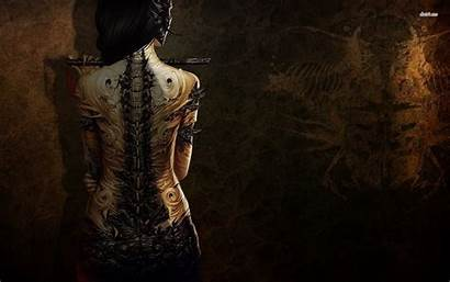 Tattoo Wallpapers Steampunk Phone Desktop Dark Artist