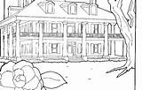 Plantation Coloring Designlooter sketch template